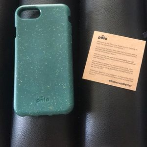 NWT Pela biodegradable iPhone 7/8 case